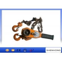 Wholesale 0.75-9Ton Vital hand operated lever block , manual lifting level chain hoist from china suppliers