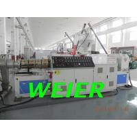 Wholesale Twin Screw Plastic Pelletizing Machine For WPC / PVC / PE Pellet , 380V 45kw from china suppliers