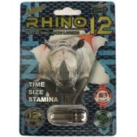 Wholesale Rhino 12 Titanium 6000 Male sex enhancement pills hard long erection from china suppliers