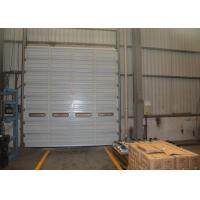 Wholesale Spring lifting single steel sheet industrial sectional door with Germany technology from china suppliers