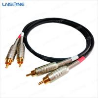 Wholesale Gold plated male to male RCA cable from china suppliers