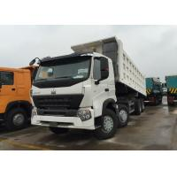 Wholesale Sinotruk Howo Dump Truck A7 371 HP 12 Wheels LHD 60 Tons 20 - 30 CBM ZZ3317N3867N1 from china suppliers