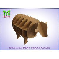 Wholesale Recyclable courrgated material  cardboard furniture for books or magazines from china suppliers