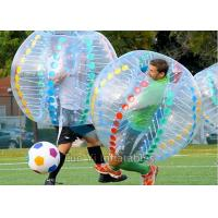 Wholesale Camping Bubble Ball Game Human Inflatable Zorb Ball Bumper Soccer from china suppliers