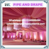 Aluminum Pole trade show photo booth pipe and drape for wedding tent ceiling drapes backdrop kits