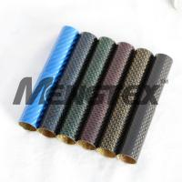 Buy cheap High quality of colorful Carbon Fiber tube/Pipe,camera from wholesalers