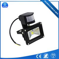 Quality Black Motion Sensor LED Lights 50W with PIR Outdoor Flood Lighting for sale