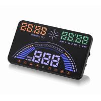 Wholesale Ouchuangbo  S7 HUD Head Up Display Combing OBD and GPS Two Systems Engine Fault Alarm Dynamic Speed Over Warning from china suppliers