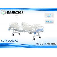 Wholesale Two Functions Full Electric ICU Hospital Bed With IV Pole , PP Guardrails LINAK Motors from china suppliers