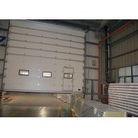 Wholesale Enclosed track design Insulated Sectional Overhead Doors with torsional spring anti breaking from china suppliers