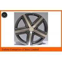 Quality TOUARGE Replica European Wheel 18 Inch Black Machined Replica Wheels For Volkswagen for sale