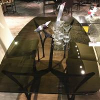Wholesale 10MM brown tempered glass as coffee table top from china suppliers