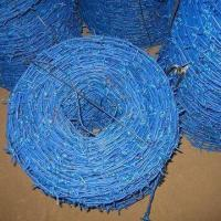 Quality PVC-coated Barbed Wire with PVC or PE as Outside Material and Low Cost for sale
