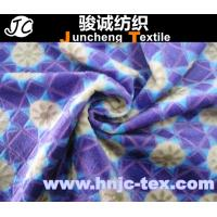 Wholesale 100% polyester printed burnout velboa fabric/ printing / fabric printed/bedding sheet from china suppliers
