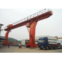 Wholesale Outdoor L Type Single Beam Gantry Crane , Electric Travelling Gantry Crane from china suppliers