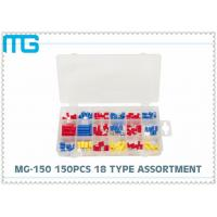 Wholesale MG - 150 Customized Wire Connector Kit 18 Types Terminals / Disconnects With PO Box from china suppliers