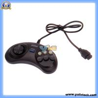 Wholesale 6 Button Game Controller Pad for Sega Genesis Brand Black 0.8m -V00276 from china suppliers