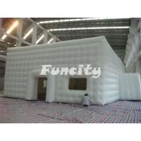 Wholesale Mobile Building Inflatable Cube Tent with Door and Window from china suppliers