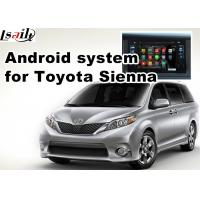 Wholesale Android 5.1 gps navigation box interface for TOYOTA Sienna 4th Prius mirrorlink from china suppliers