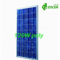 Wholesale Photovoltaic PV Polycrystalline Solar Module 120W for Charging Led lights from china suppliers