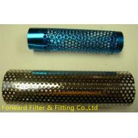 Wholesale Mild Steel Perforated Metal Tube For Oil Well , High Speed Hole Punching from china suppliers