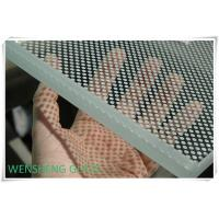 Wholesale Acid and Alkali resistant decorative Silk Screen Glass with with printing inorganic paint from china suppliers
