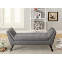 Wholesale Solid Wood Legs Upholstered Bench Seat ,  Upholstered Bedroom BenchPolyester from china suppliers