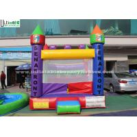 Wholesale Backyard Kids Inflatable Jumping Castles With Custom Made Logo from china suppliers