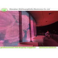 Wholesale High brightness 1r1g1b transparent led panel screen with 15.63mm pixel pitch from china suppliers