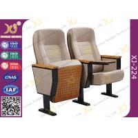Wholesale Fixing Leg Damper Return Auditorium Auditorium Chairs , Movie Theatre Chairs from china suppliers
