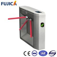 Wholesale TCP / IP / RFID Tripod Turnstile Security Systems , Subway Gate from china suppliers
