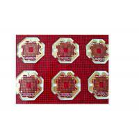 Wholesale Red Soldermask Multilayer PCB Board FR4 Material With ENIG Surface Treatment from china suppliers