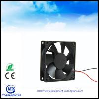 Wholesale 3D Printer 12V DC Axial Fan , CPU PWM Signal Cooling Fan 80mm x 80mm x 25mm from china suppliers