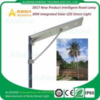 Wholesale China Supplier 12V 30W LED All in One Solar Street Light Price List from china suppliers