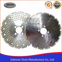Original 8 Inch Diamond Saw Blade For Cutting Marble or Granite Single Side Dots