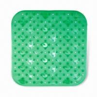 Buy cheap 610g Bath Mat, Made of PVC, Available in Green from wholesalers