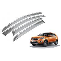 Wholesale Custom Car Window Visors , Hyundai Tucson IX25 2014 Injection Molding Chrome Trim from china suppliers