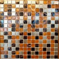 Wholesale mixed mosaic glass+ stainless steel mosaic PY-FL008 from china suppliers