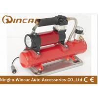 China Metal 12v Portable Air Compressor 4x4 4wd Heavy Duty Off Road Air Tank on sale