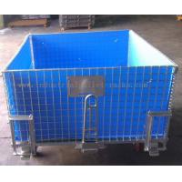 Wholesale 4 Side Bottom Plastic Board Steel Containers For Semi - Finished Cargo Protection from china suppliers