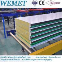 Wholesale New Type glass wool fire proof insulated wall panel for steel warehouse from china suppliers