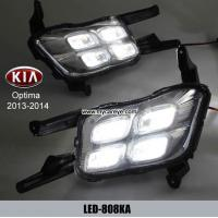Wholesale KIA Optima DRL LED Daytime Running Lights Car front light aftermarket from china suppliers