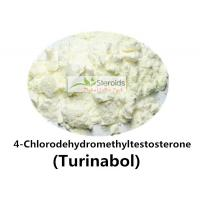 Wholesale 4-Chlorodehydromethyltestosterone / Turinabol Raw Testosterone Powder Anti-estrogen 2446-23-3 from china suppliers