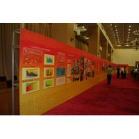 China Portable elegant concise 3 X 3, 3 X 4, 4 X 4, 75.5cm per cell spring pop up banner stands on sale