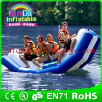 Wholesale Inflatable floating water seesaw pool seesaw for toddlers inflatable floating water game from china suppliers