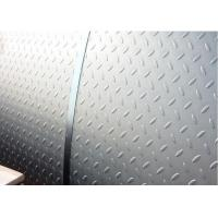 Wholesale Hot Rolled ISO9001 Steel Checker Plate 2 - 10mm Thick Standard Sizes from china suppliers