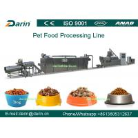 Wholesale Dry Pet Food Extruder processing line / pet extruder machine from china suppliers