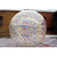 Wholesale Big Waterproof Inflatable Human Ball Commercial With Colorful Spot from china suppliers