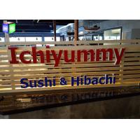 Wholesale LED Channel Letters Face Lit Custom Lighted Signs For Business Ultra Bright from china suppliers