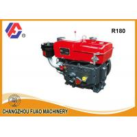 Wholesale 8HP Single Cylinder Diesel Engine R180/ZR180 farming Horizontal Diesel Engine from china suppliers